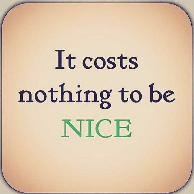 It's nice to be important but it's more important to be nice. Happy Friday! #inspiresomeone #kindnesscounts